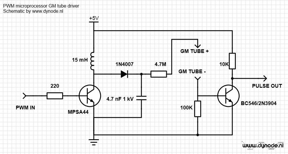 Trinket powered geiger counter - dynode.nl on telephone circuit schematic, tesla coil circuit schematic, metal detector circuit schematic, geiger counter circuit board,